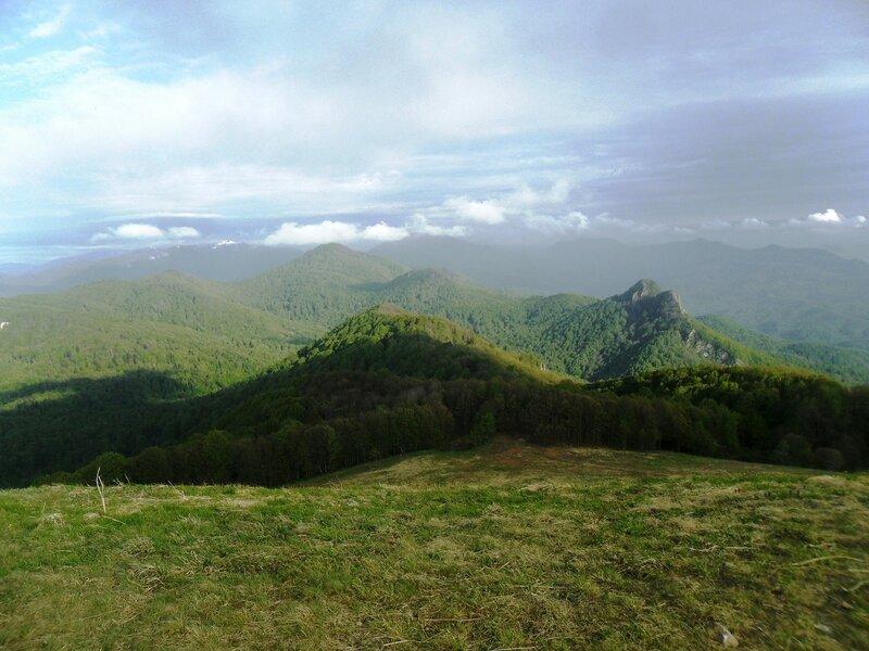 В горной стране