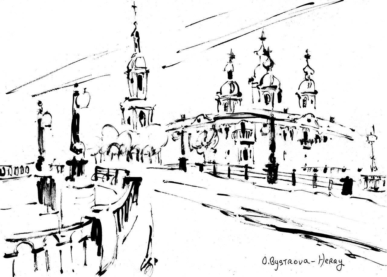 St.Pétersbourg.StNicolas. Pont