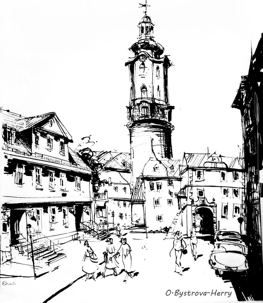 WEIMAR. Schloss