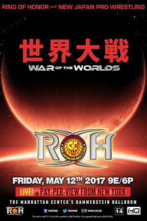 Post image of ROH/NJPW War of the Worlds 2017