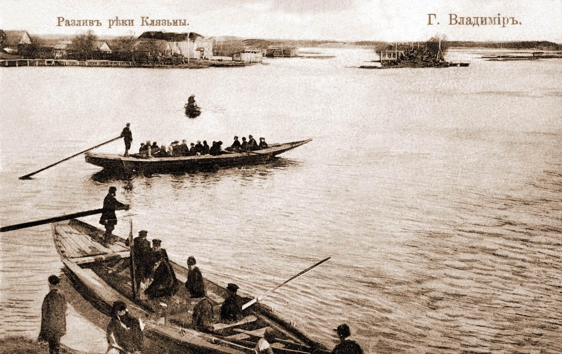 Разлив реки Клязьмы