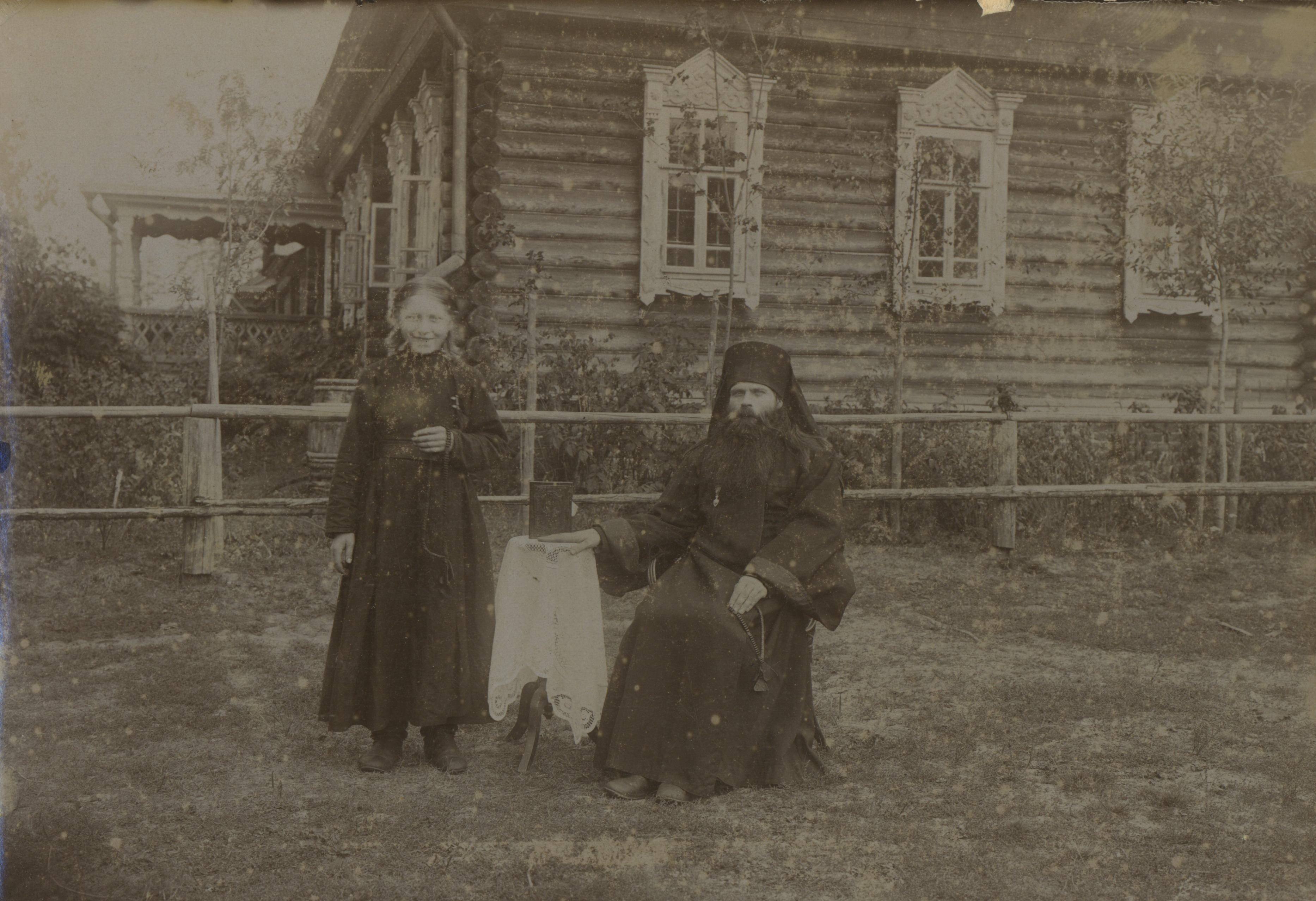 В монастыре под Муромом. 1900 – 1910