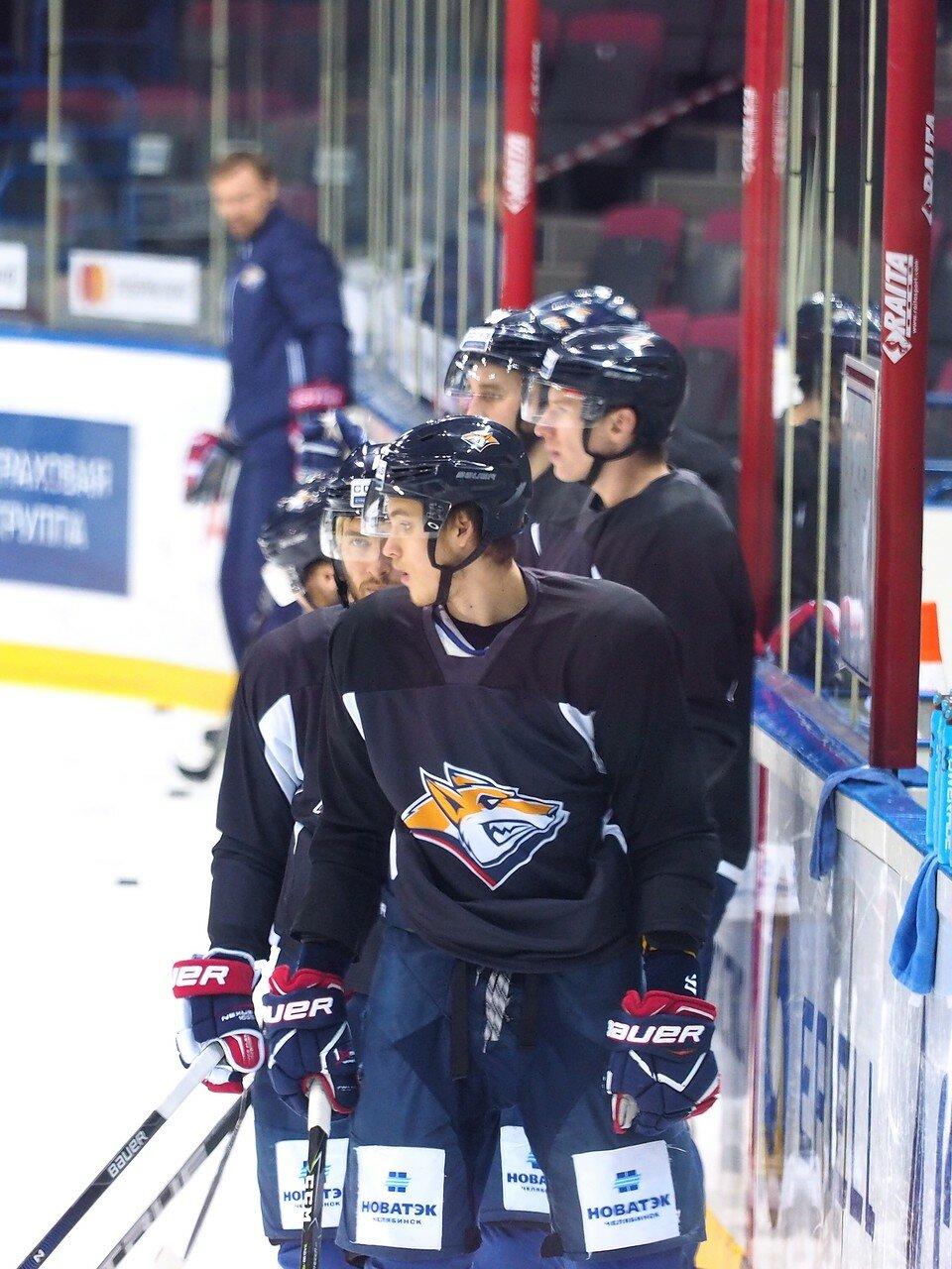 24 Открытая тренировка перед финалом плей-офф восточной конференции КХЛ 2017 22.03.2017