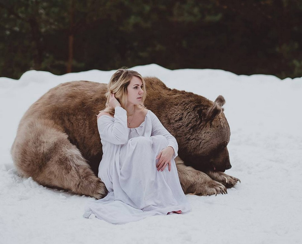Люди и животные на снимках Ольги Баранцевой