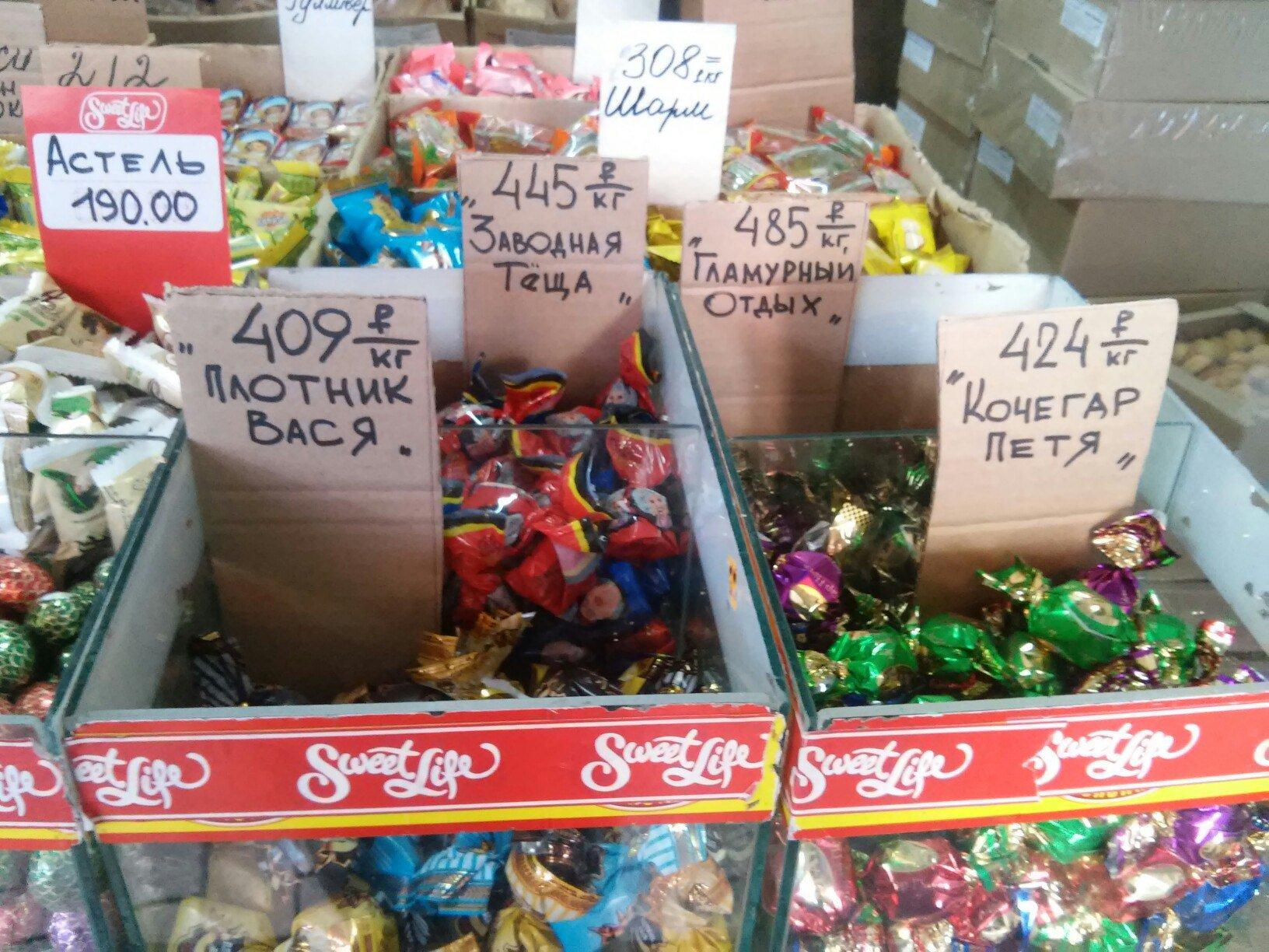 Эти странные конфеты