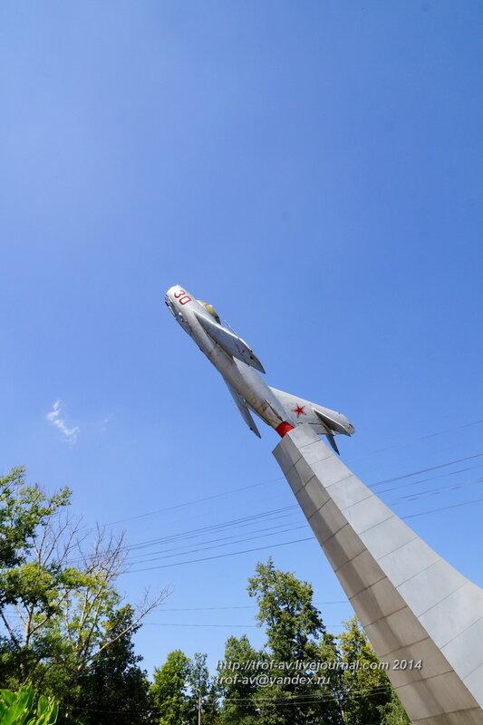 Памятник МиГ-17Ф, Орел