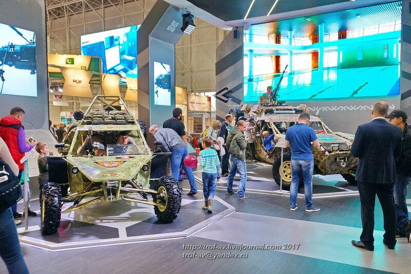 Аэромобильные многоцелевые автовездеходы багги Чаборз, форум Армия-2017