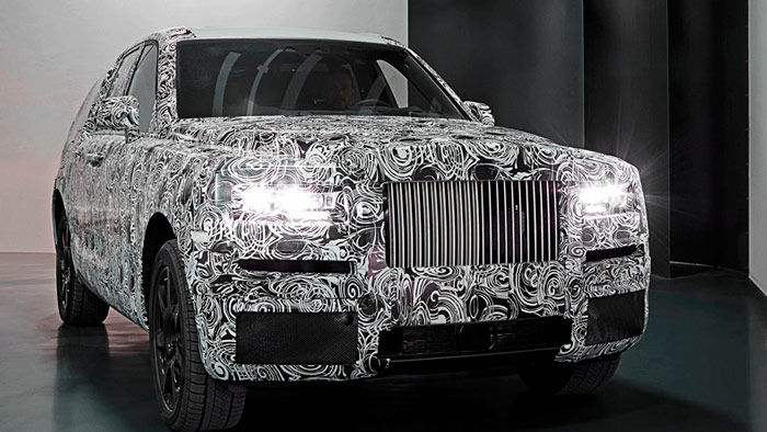 Глава Rolls-Royce «разоблачил» Bentley Bentayga