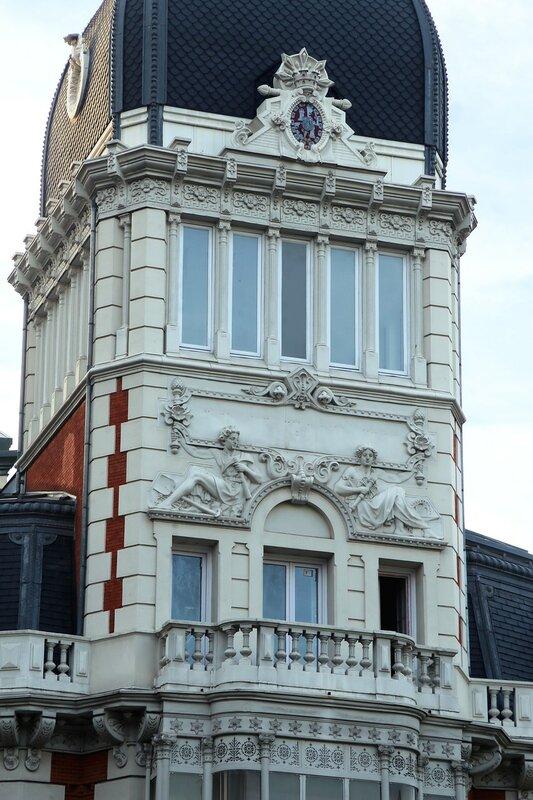 Мадрид. Здание Астурийской горной компании (Real Compañía Asturiana de Minas)