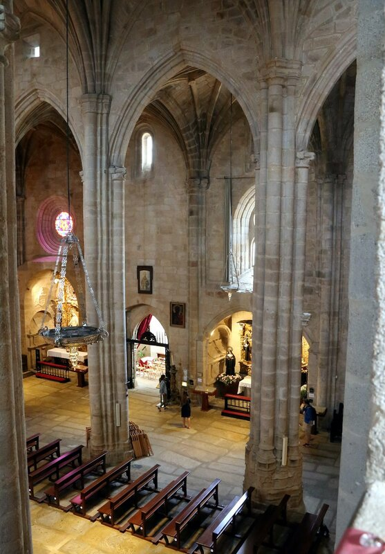 Cáceres cathedral interior