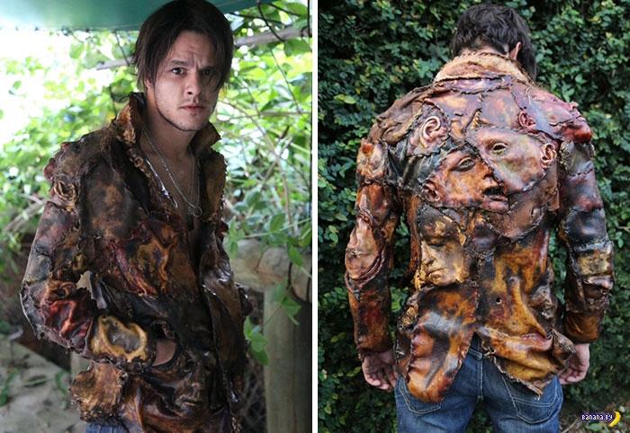 Одежда и аксессуары из человеческой кожи (9 фото) 18+