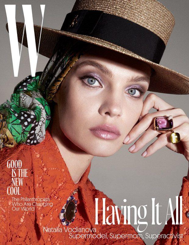 Наталья Водянова в W Magazine (15 фото)