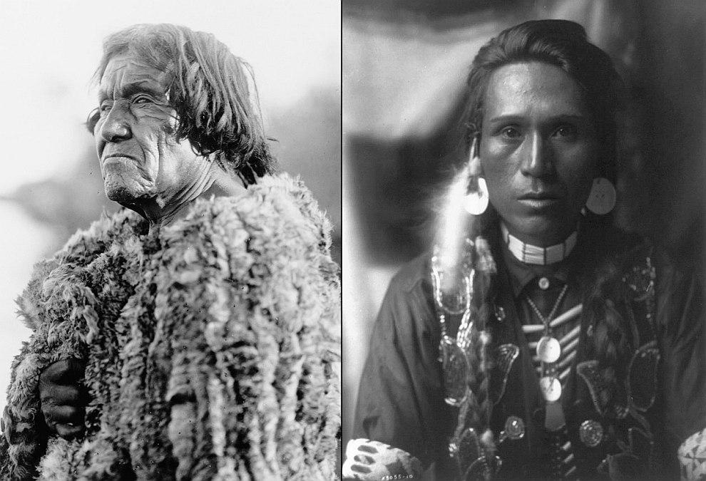 Индейцы из племени Навахо, 1904 год. (Фото Library of Congress | Edward S. Curtis):