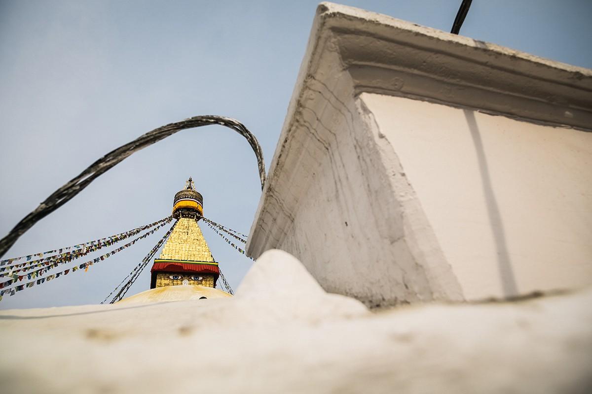 37. Боднатх построили еще в пятом веке. Это самая высокая ступа в Катманду, больше 40 метров высотой