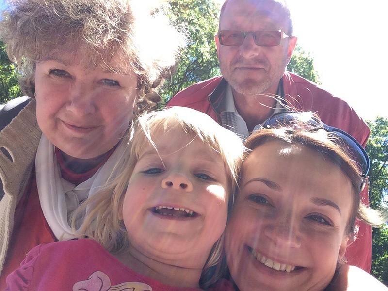 Мы ездили в пущу две недели назад, с Валери и моими родителями – ах, как же было здорово!