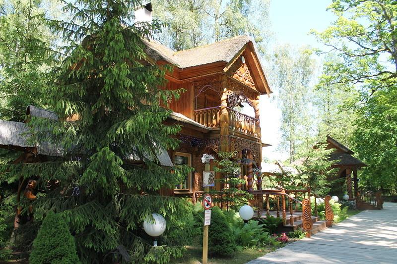 Беловежская пуща и Летний Дед Мороз