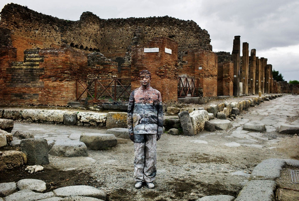 Древний римский город Помпеи, 2012 год: