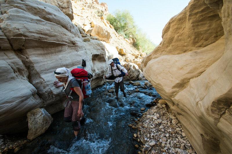 Треккинг и каньонинг в Иордании. апрель 2015