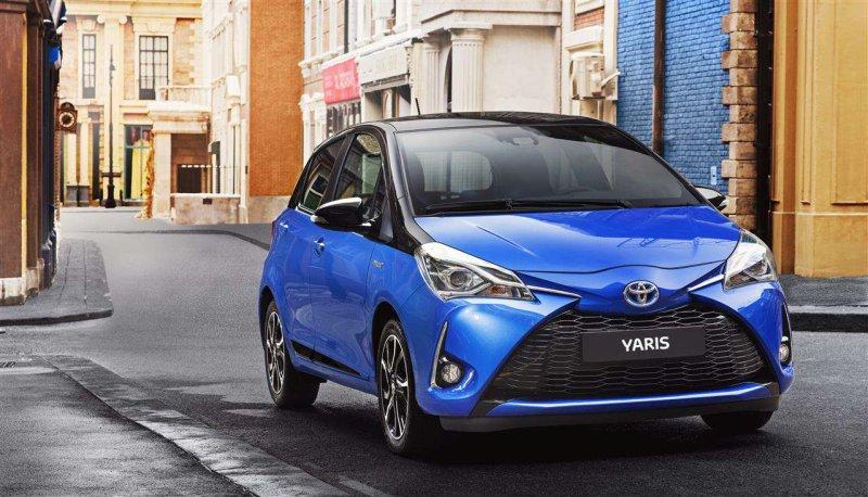 Автомобиль Тойота Yaris поступил в реализацию на автомобильном рынке Украины