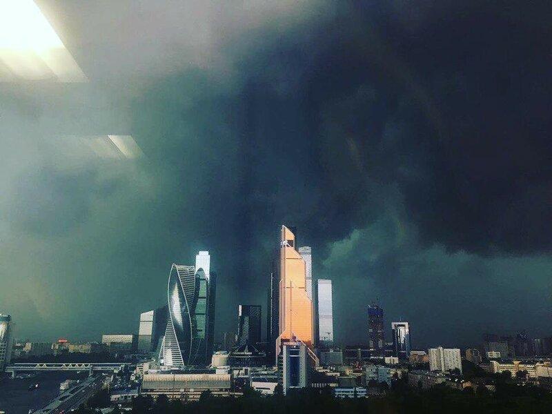 Ливень в Москве 30 июня 2017, непогода, москва, ливень