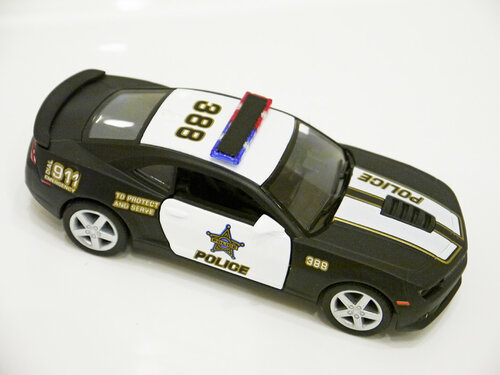 Kinsmart Chevrolet Camaro Police