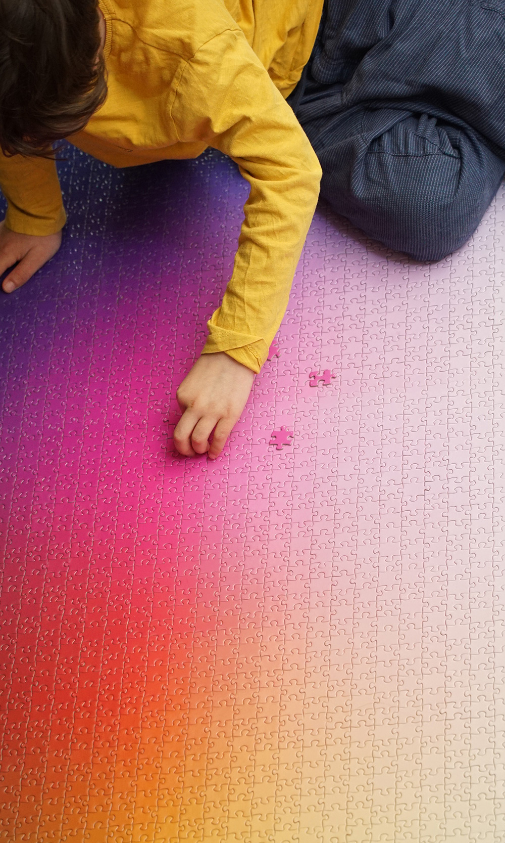 A Giant New 5,000-piece CMYK Color Gamut Jigsaw Puzzle by Clemens Habicht