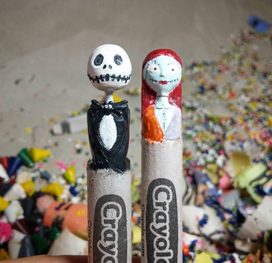 Pop Culture Crayola Sculptures Part II