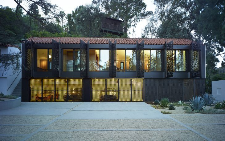 Located in the Los Feliz area of greater Los Angeles, this project was a rare opportunity to restore