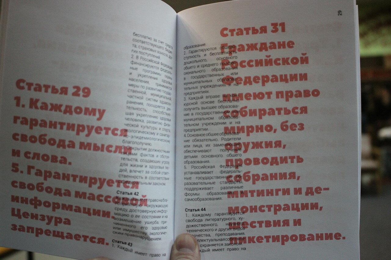 Спецвыпуск Конституции РФ