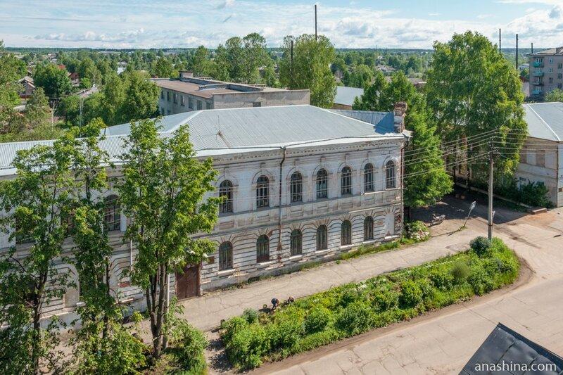Здание Вытегорского политехнического техникума