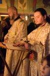 Первое ночное Пасхальное Богослужение в храме вмц. Марины 2017 ч 1