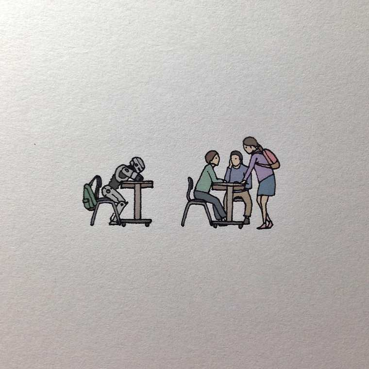 Pop Culture - Des illustrations miniatures adorables, amusantes et decalees