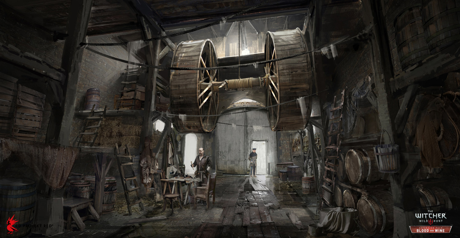 The Witcher 3: Wild Hunt - Blood & Wine Concept Art by Andrzej Dybowski