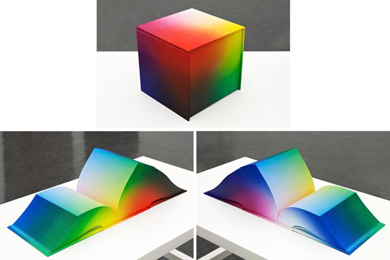 Tauba Auerbach : RGB Colorspace