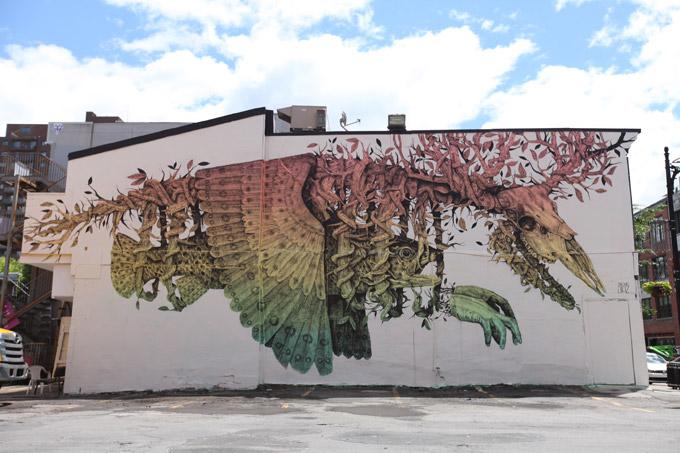 Os murais da 2? Edicao do Mural International Art Festival