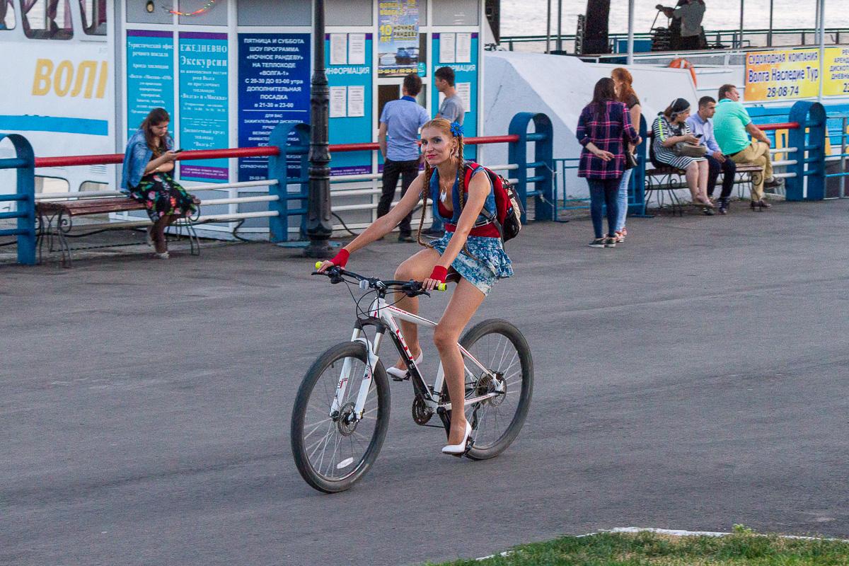 велопарад Леди на велосипеде фото 9
