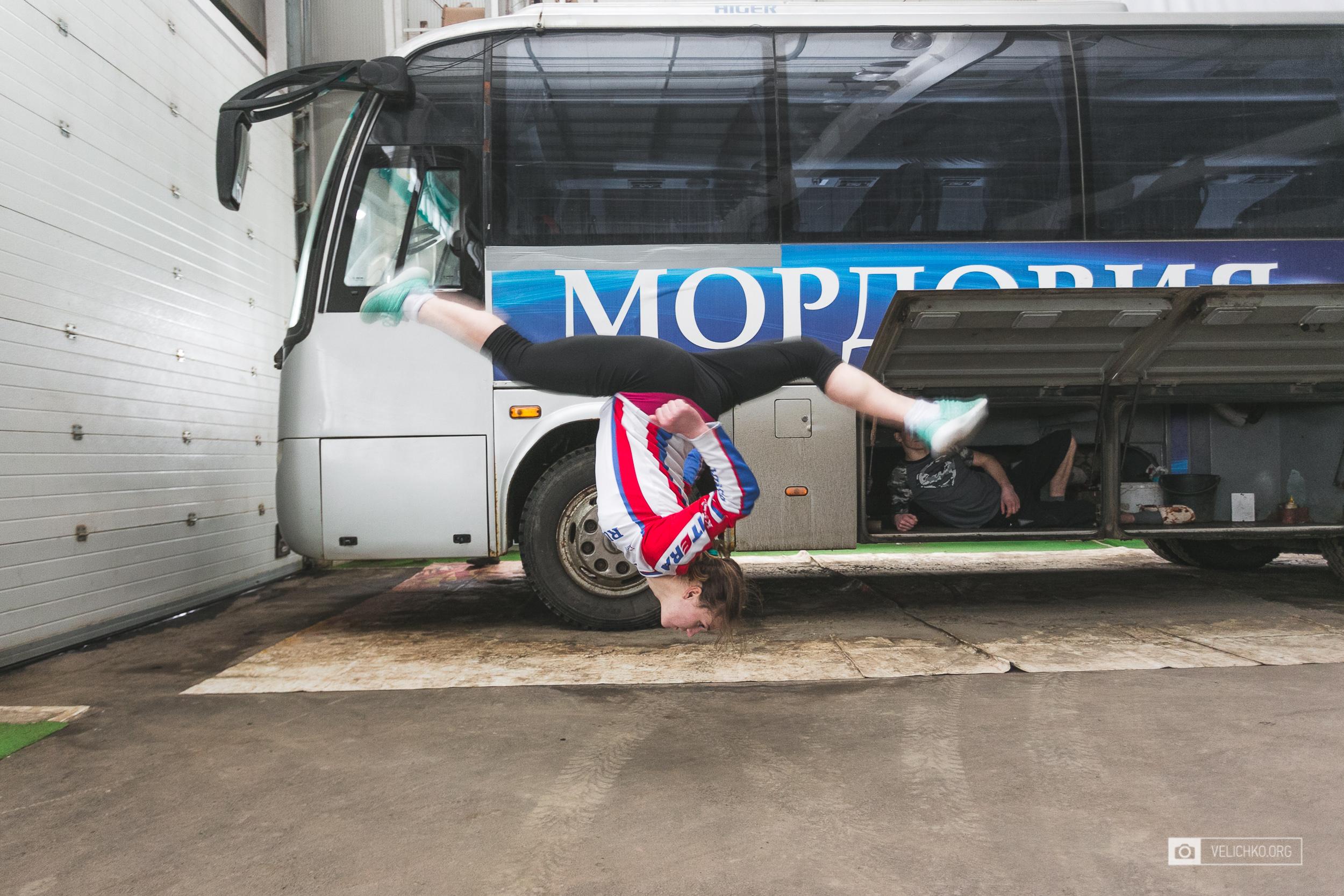 Тренировки: Спортивные МТБ-сборы в Саранске - день 1
