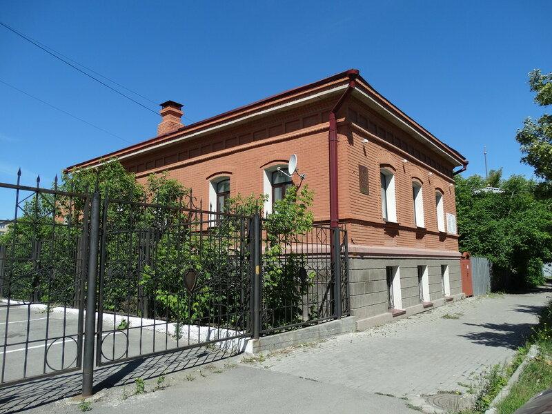 Дом, где жили Елькины