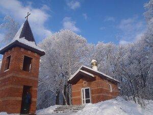Снега... Купола...