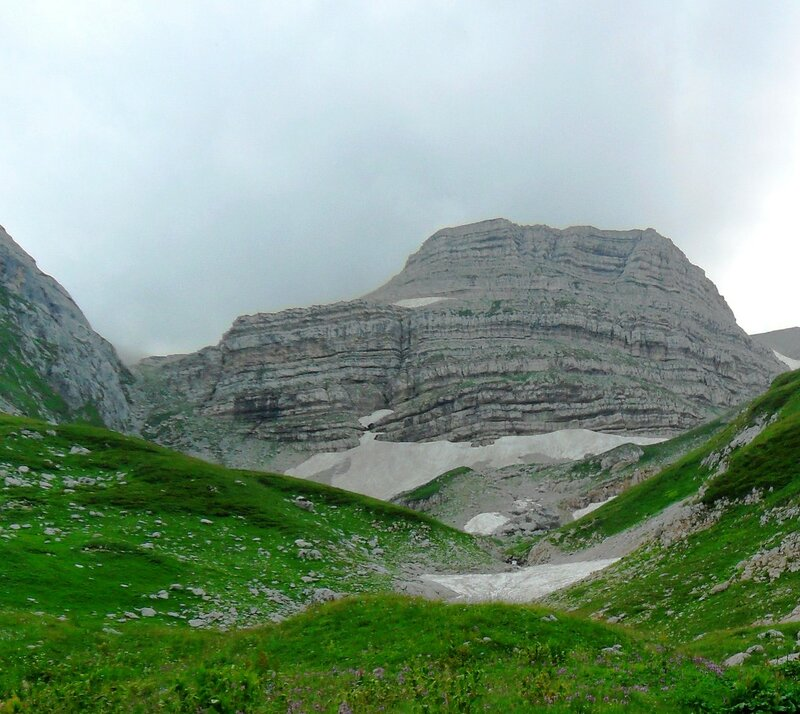 В походе на Оштен, июль, в горах... (1).JPG