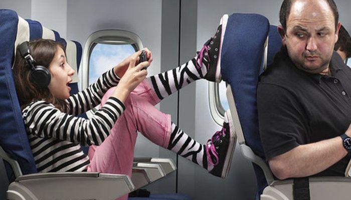 Что больше всего раздражает пассажиров в полете
