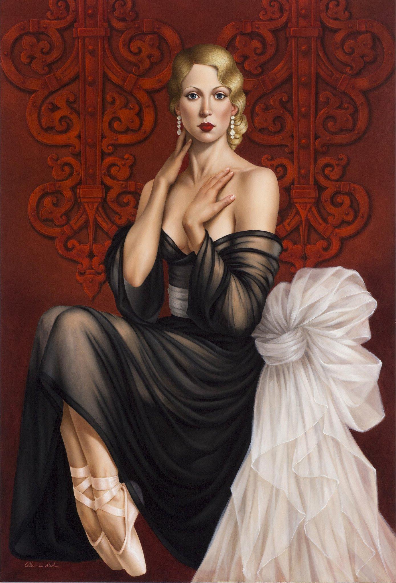 Катерина Абель. Красота и нежность ар-деко.