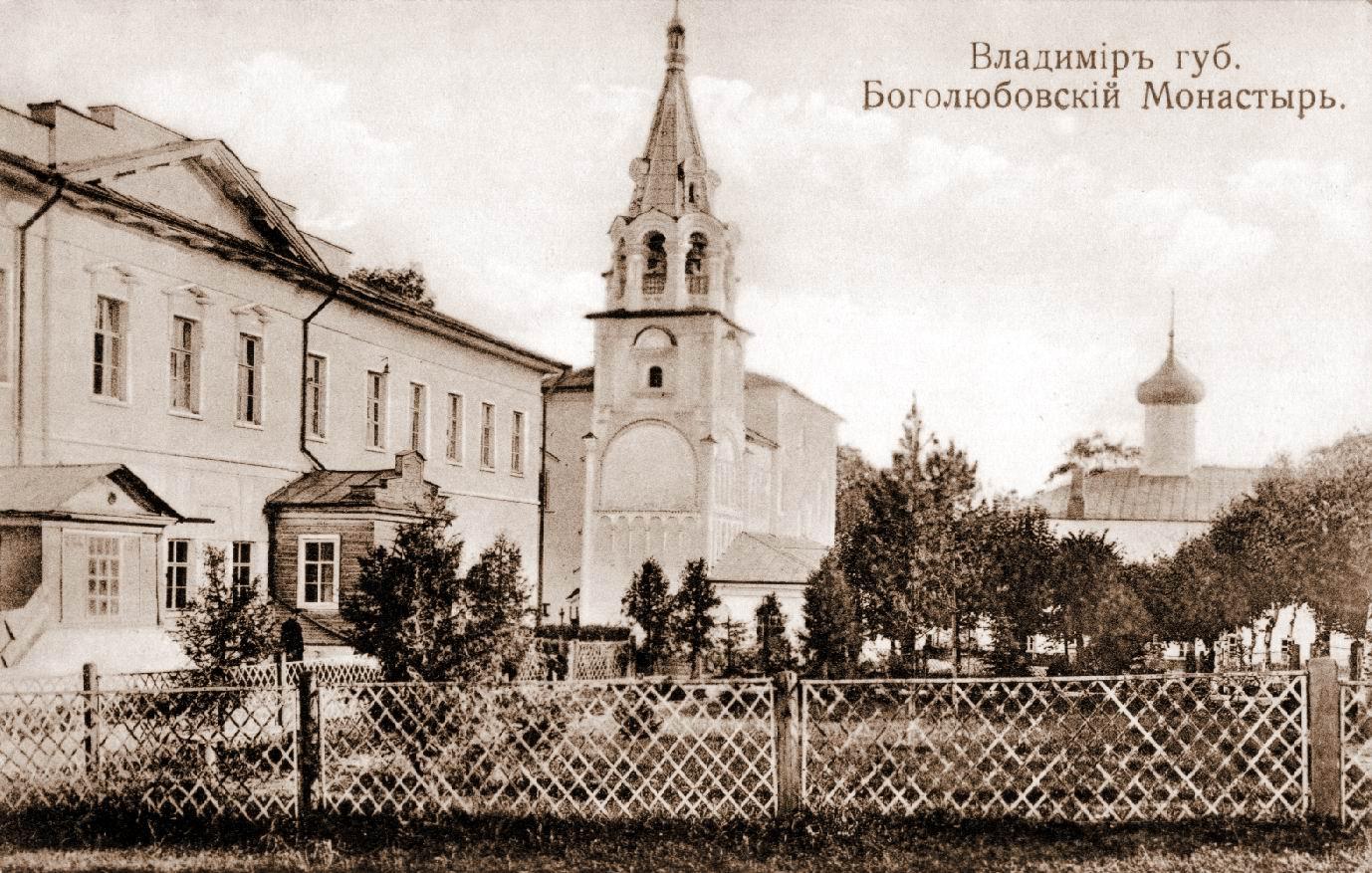 Окрестности Владимира. Село Боголюбово. Боголюбовский монастырь
