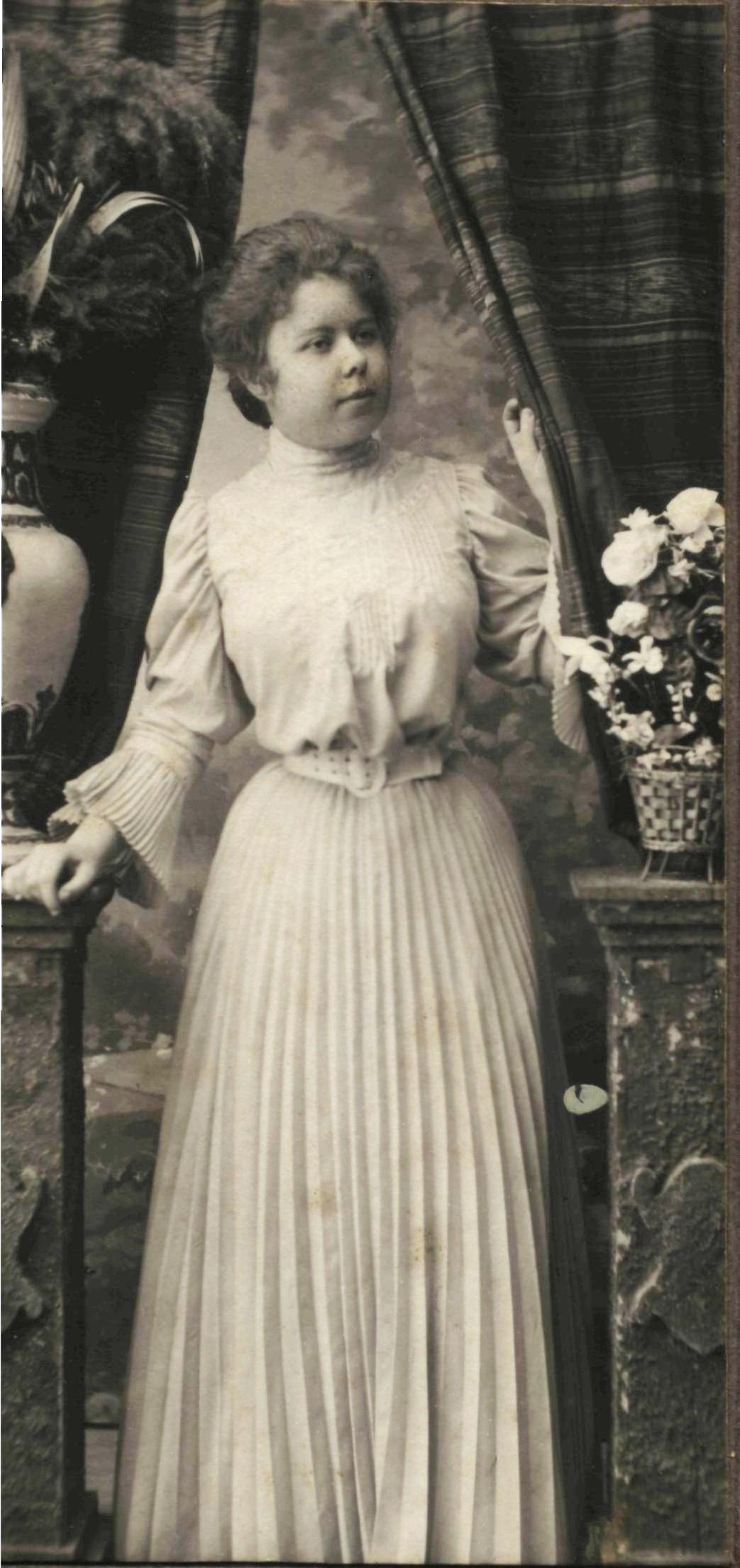 Портрет Марии Орловой. 1909-1910