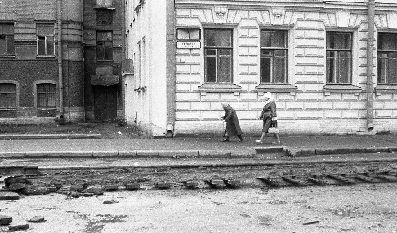 Васильевский остров. Около Смоленского кладбища. 1986