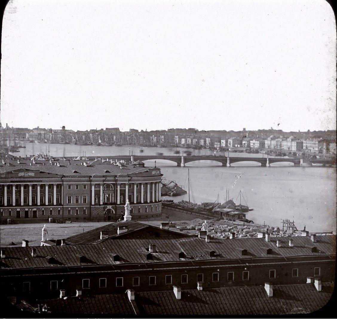 1856. Вид на Сенатскую площадь