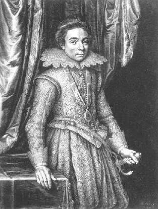 Kupferstich von Boethius Bossard nach einem Gemälde von M.J. Miereveld.jpg