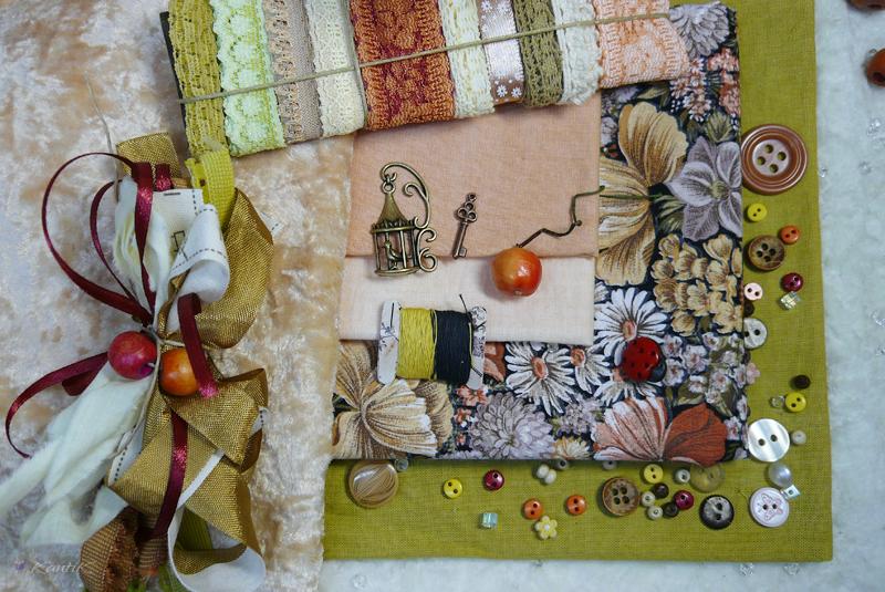 ткани винтажные хлопок наборы для рукоделия кукол и игрушек