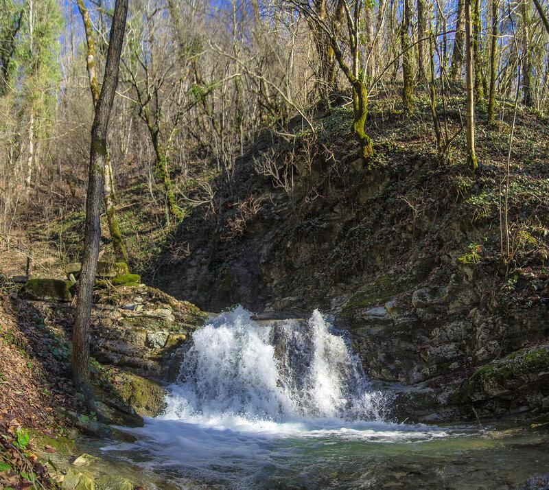 Водопад в Сухой балке