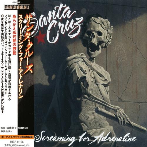 Santa Cruz - 2013 - Screaming For Adrenaline [Avalon, MICP-11106, Japan]